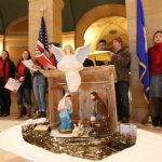 Nativity scene makes appearance at State Capitol