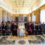 'Educational compact' between families, world is broken, pope says