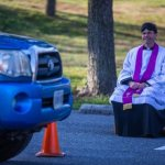 Priest begins offering drive-through confessions in church parking lot