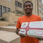 UST student collects Boxes of Joy for children in need