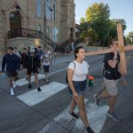 Stillwater teens walk 22 miles in pilgrimage to Cathedral of St. Paul