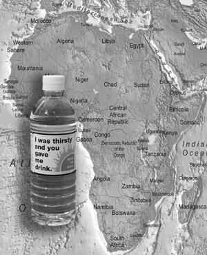 water_africa_map_BW