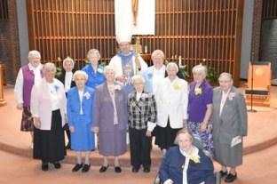 Bishop and Jubilee nuns