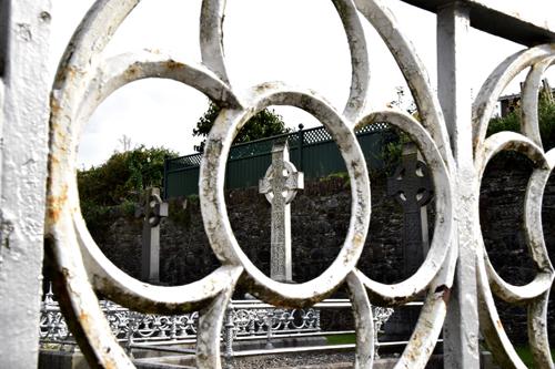 Outside St. Patrick's Church, Fermoy, County Cork, Oct. 4, 2015. (Sun photo | Katherine Long)