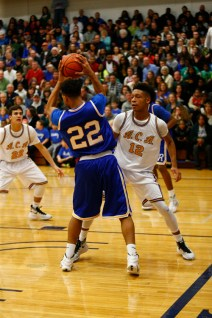 O7U9678 1 - Rosary tops Assumption in 'throwback' basketball game