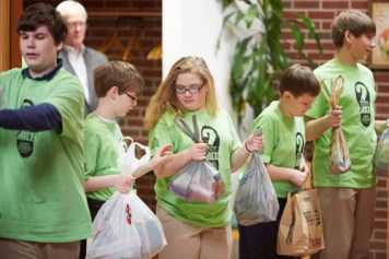 529A5180 1 - St. Margaret's, Grimes students go 'the extra mile' on day of service