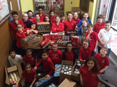 blessed sacrament IMG 19121 1 - #MercyExtended: Catholic Schools Day of Service