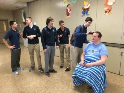 IMG 0002 1 - Grimes principal goes bald for a good cause