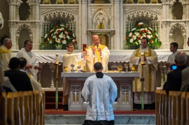 LyonsDeaconOrdination 011 1 - 'A minister of charity and a servant of love':  Seminarian Matthew Lyons ordained to the transitional diaconate