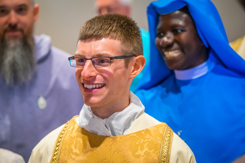 LyonsDeaconOrdination 016 1 - 'A minister of charity and a servant of love':  Seminarian Matthew Lyons ordained to the transitional diaconate