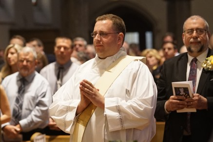 IMG 1385 1 - Father Kenneth Kirkman and Father Peter Tassini, Jr. ordained to the priesthood