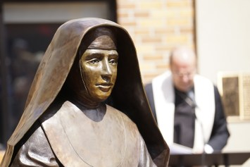 IMG 7152 1 - New garden honors local saint, family