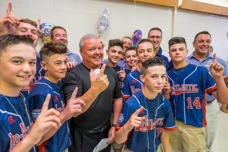 LLWS champions inducted into Binghamton shrine: Rumble Ponies honor 2016 M-E squad that won it all