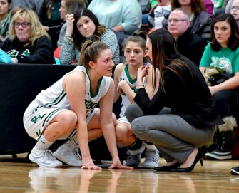 Coach Nicole McManus by Roger Hagan 2 1 - Ludden's Rauch, McManus honored as best in CNY