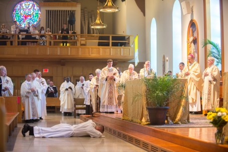 Cath 5 1 - Called to serve: Matthew Rawson ordained to transitional diaconate
