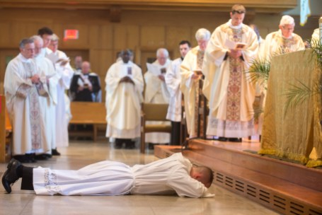 Cath 6 1 - Called to serve: Matthew Rawson ordained to transitional diaconate