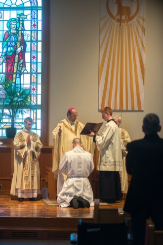 Cath 7 1 - Called to serve: Matthew Rawson ordained to transitional diaconate