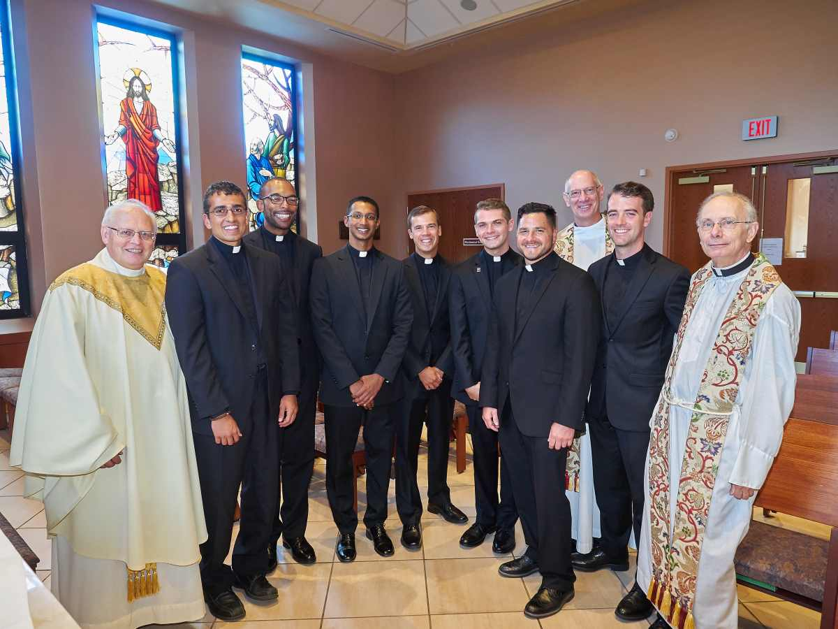 Jesuit novices pronounce first vows