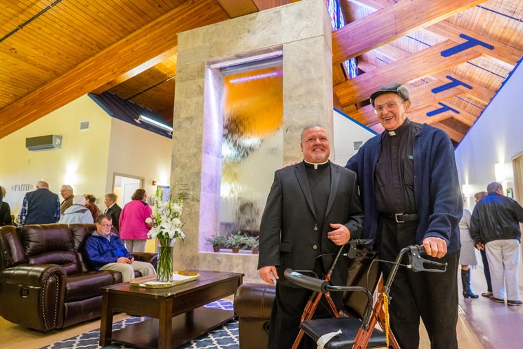 Father Matt Wieczorek was inspiration to fellow priests