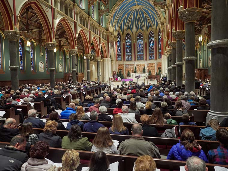 More than 100 honored for service to parishes at annual Immaculata Awards