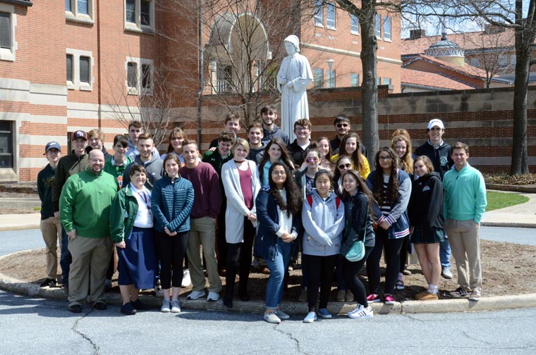 Seton Catholic Central visits national Seton shrine
