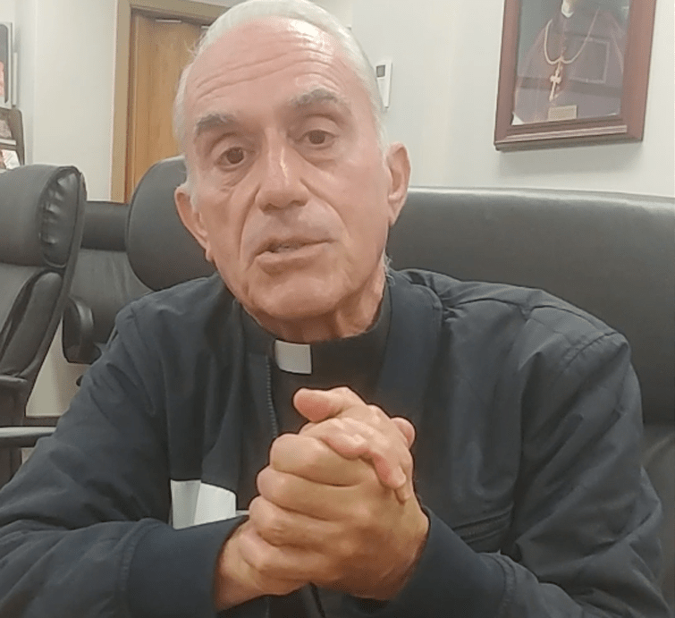 Missionary priest's home leave calls for a poem: On the mend from surgery, Father Michael Bassano eyes return to Africa