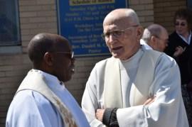 Father Peter Major closeup