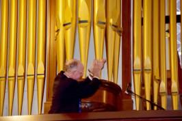 Todd Wilson praises organ - Glory days begin for basilica's mighty Skinner organ