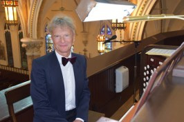 Wojciech at console best - Glory days begin for basilica's mighty Skinner organ