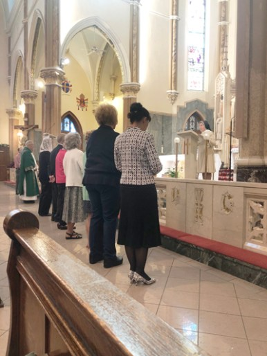 basilica - Catechists celebrated