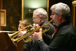 trumpeters - Concert glories in 'the magic of Christmas music'