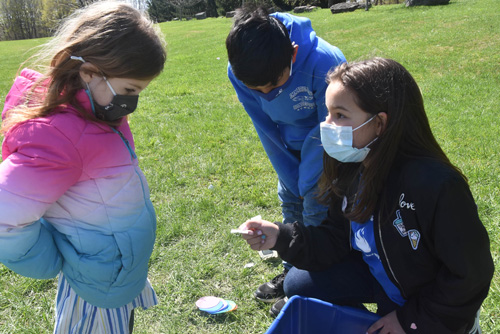 IC Earth Day 5 - Earth Day inspires sprucing up at IC School