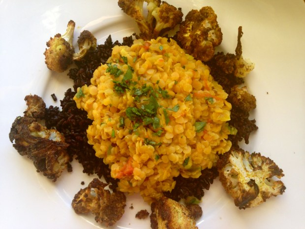 Curried Lentils 11