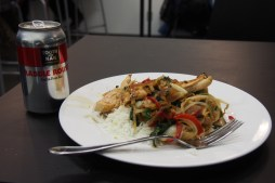 beer, Tooth and Nail, stir fry, meal