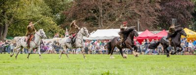Herefordshire Country Fair - WW1 Horses and Heroes - The Final Cavalry Charge
