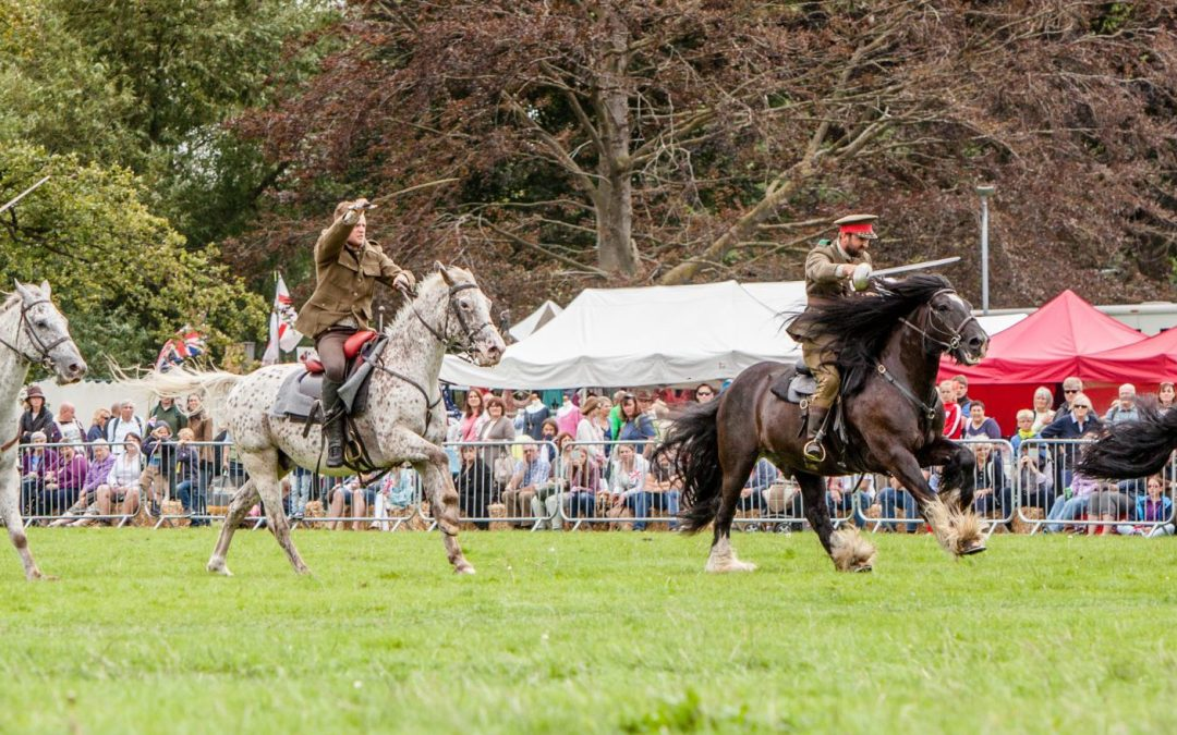 Horse Display in the Heart of Historic Hereford at the Hereford Country Fair