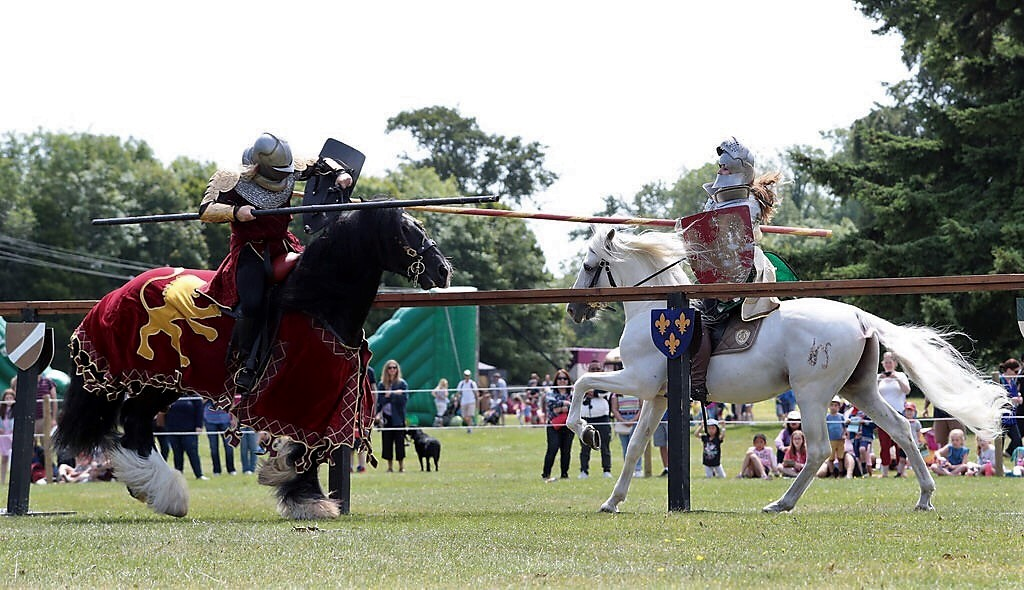 Lady Lancelot travels back to The Emerald Isle for some Medieval Jousting!