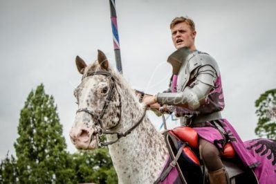 The Cavalry of Heroes performing Medieval Jousting Show at Lambeth Country Show 2017 Knights on Horseback 14