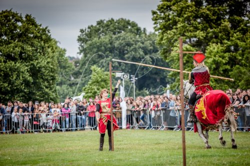 The Cavalry of Heroes performing Medieval Jousting Show at Lambeth Country Show 2017 Knights on Horseback 23