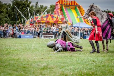 The Cavalry of Heroes performing Medieval Jousting Show at Lambeth Country Show 2017 Knights on Horseback 30