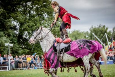 The Cavalry of Heroes performing Medieval Jousting Show at Lambeth Country Show 2017 Knights on Horseback 31