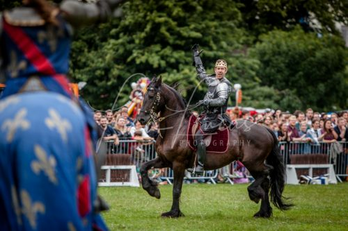 The Cavalry of Heroes performing Medieval Jousting Show at Lambeth Country Show 2017 Knights on Horseback 34