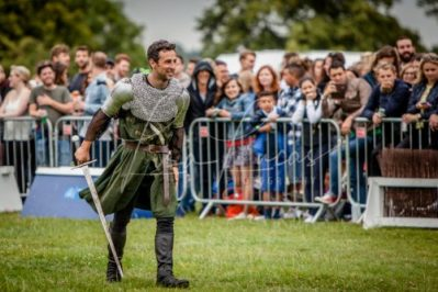 The Cavalry of Heroes performing Medieval Jousting Show at Lambeth Country Show 2017 Knights on Horseback 35