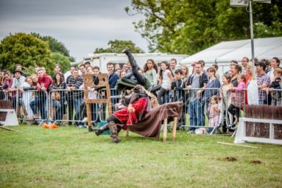 The Cavalry of Heroes performing Medieval Jousting Show at Lambeth Country Show 2017 Knights on Horseback 37