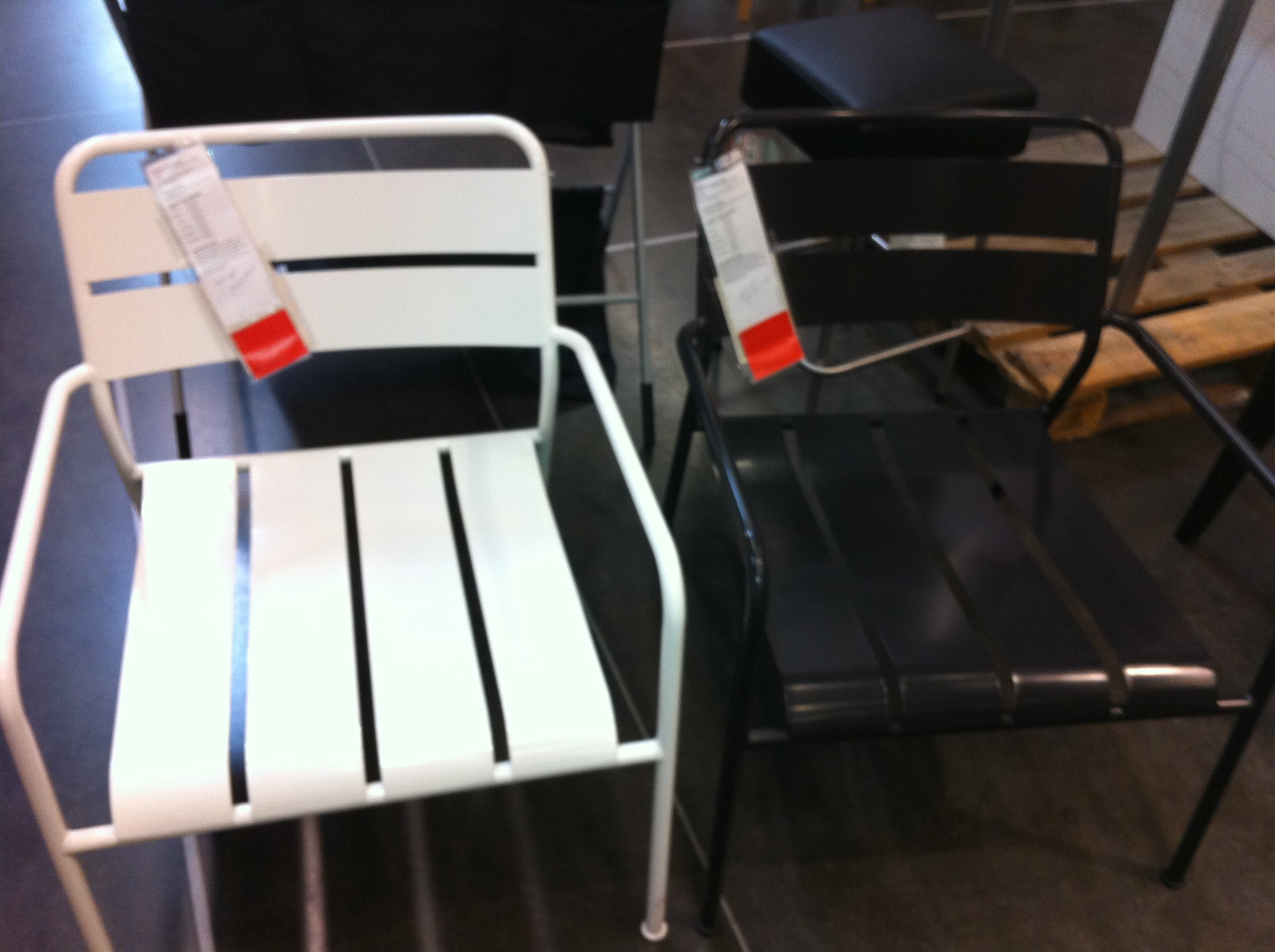 White Metal Chair Ikea Metal Patio Chairs The Cavender Diary