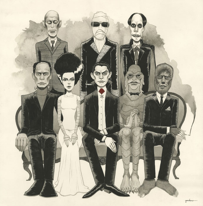 The Universal Monsters THE CAVENDER DIARY