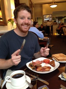 One last full Irish breakfast!