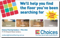 Choices Flooring Sunbury - CARPET SALES