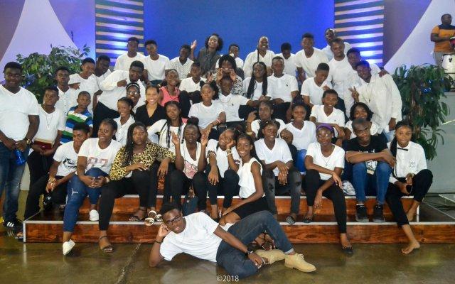 Youths at Altar