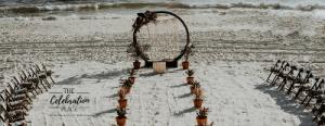 Panama City Beach Wedding and Arch